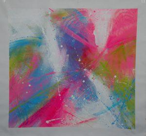 Beschilderd katoenen doek