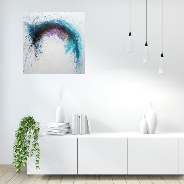 Abstract schilderij