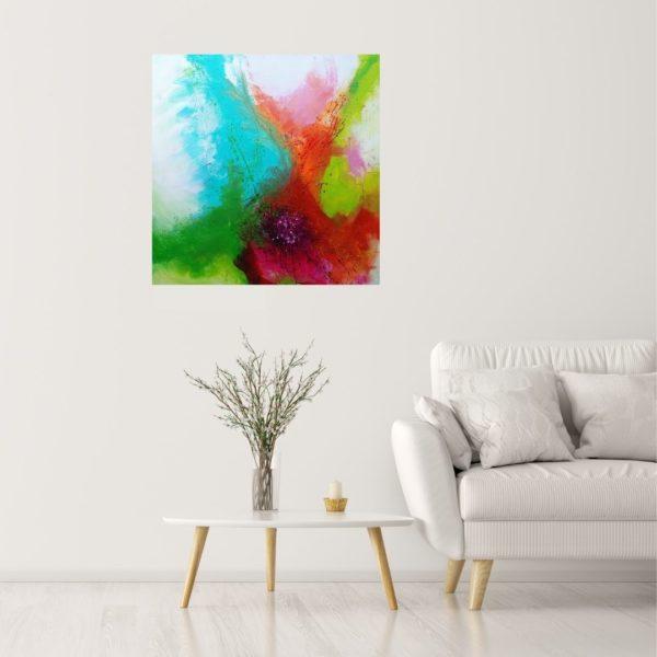 Kleurrijke kunst