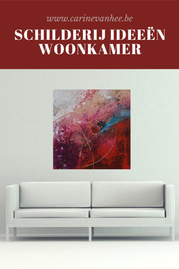 Schilderij woonkamer